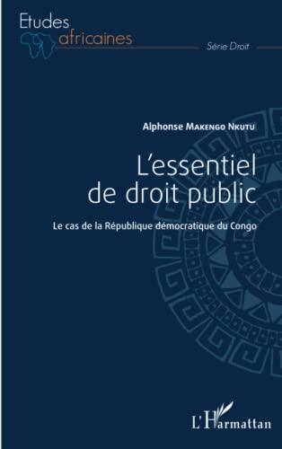 9782343052243: L'essentiel de droit public