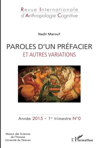 9782343052618: Paroles d'un préfacier: et autres variations (French Edition)