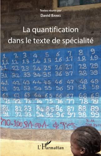 9782343060200: La quantification dans le texte de sp�cialit�