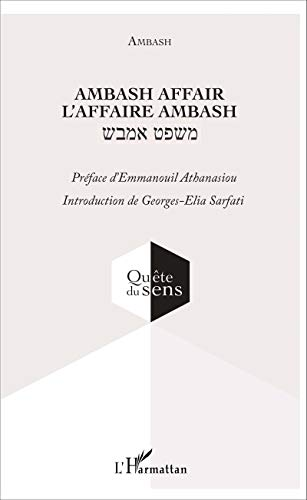 9782343079691: Ambash affair: L'affaire Ambash (French Edition)