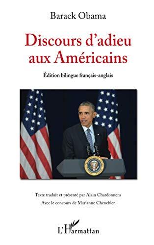 9782343150130: Discours d'adieu aux Américains: (Edition bilingue français-anglais)