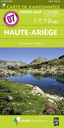 9782344006276: Haute-Ariege - Vicdessos - Orlu 7 2015: RANDO.07