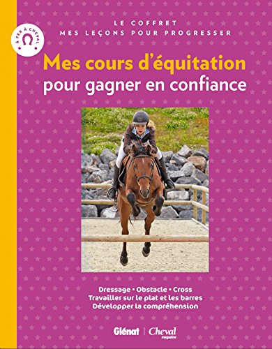 9782344007808: Coffret Mes cours d'équitation pour gagner en confiance : Je saute à cheval + Je m'entraîne avec mon cheval