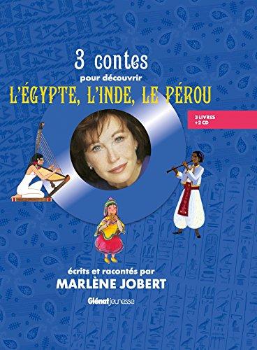 3 CONTES POUR DÉCOUVRIR L'ÉGYPTE, L'INDE, LE PÉROU + 2CD: JOBERT ...
