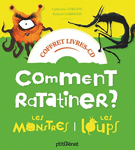 9782344030158: Coffret Comment ratatiner les monstres et les loups - Livre CD: 2 histoires + 1 CD