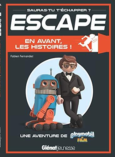 9782344036143: Escape ! Playmobil en avant les histoires: Une aventure Playmobil