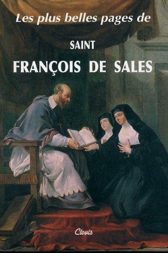 9782350050317: Les Plus Belles Pages de Saint Fran�ois de Sales