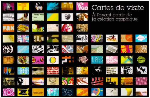 CARTES DE VISITE: � L'AVANT-GARDE DE LA CR�ATION GRAPHIQUE (2350170365) by MICHAEL DORRIAN
