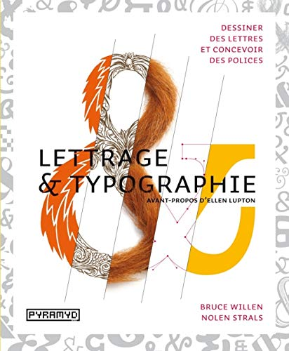 """""""lettrage & typographie ; dessiner des lettres et concevoir des polices"""": Nolen ..."""
