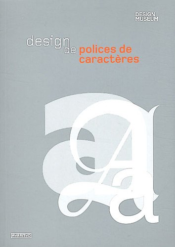 9782350172620: Design de polices de caractères
