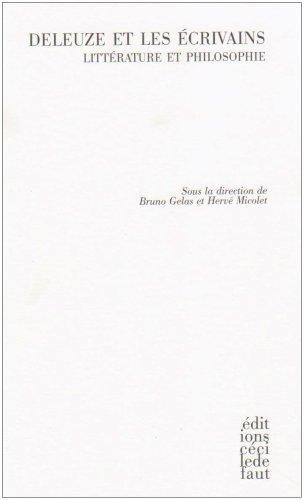 9782350180427: Deleuze et les �crivains : Litt�rature et philosophie