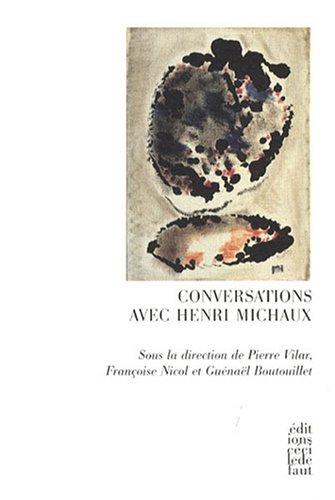 9782350180601: Conversations avec Henri Michaux