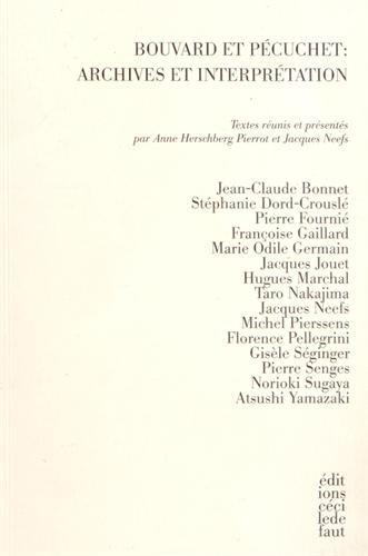 9782350183565: Bouvard et Pecuchet : archives et interprétation