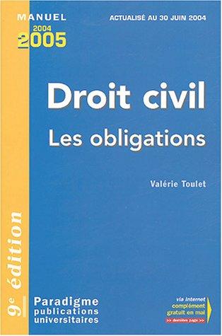 9782350200026: Droit civil : Obligations Responsabilité civile