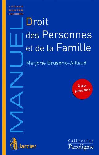 9782350200903: Droit des personnes et de la famille