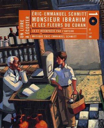 9782350210056: Monsieur Ibrahim et les fleurs du Coran (2CD audio) (Un Livre à écouter)
