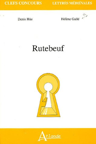 9782350300061: Rutebeuf (Clefs Concours)