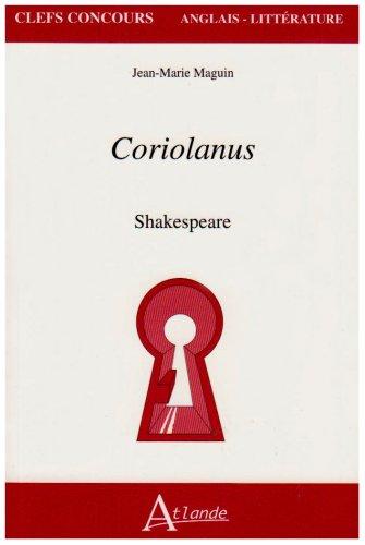9782350300221: Coriolanus : Shakespeare Edition en langue anglaise