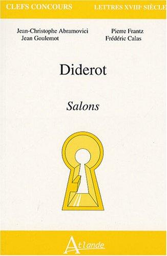 Diderot : Salons: Jean-Christophe Abramovici, Jean-Marie