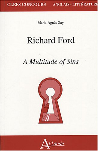 9782350300597: Richard Ford (French Edition)