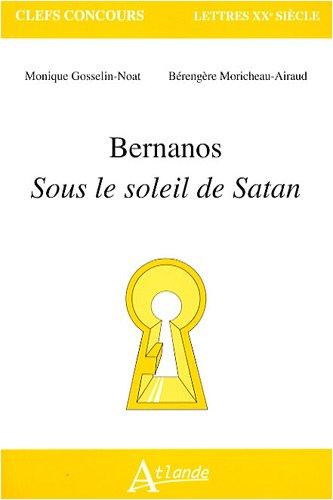 9782350300795: Bernanos : Sous le soleil de Satan