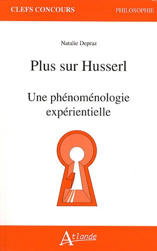 9782350300986: Plus sur Husserl (French Edition)