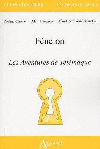 9782350301143: F�nelon, Les aventures de T�l�maque