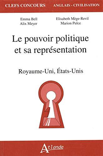9782350301327: Le pouvoir politique et sa représentation (French Edition)
