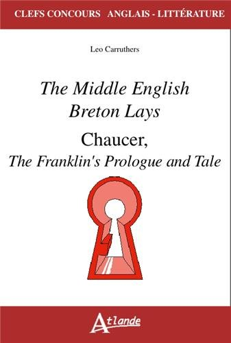 9782350302416: Reading the Middle English Breton Lays and Chaucer's Franklin's Tale