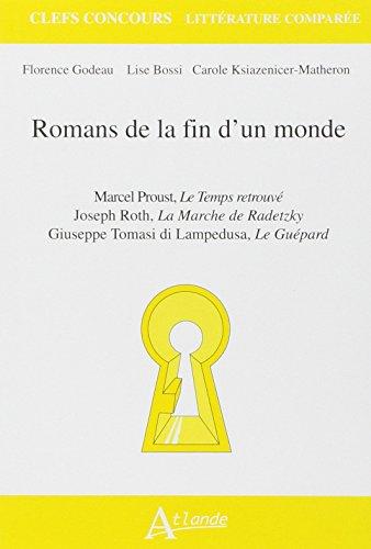 9782350302942: Romans de la fin d'un monde