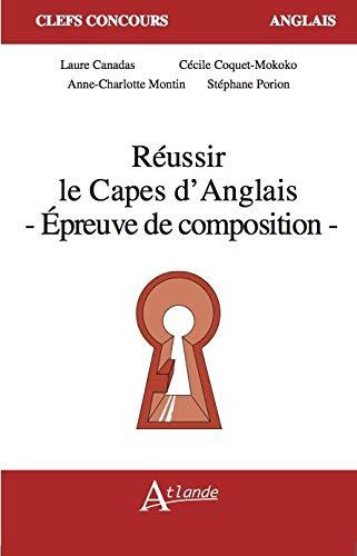9782350302980: Réussir les oraux du CAPES d'anglais