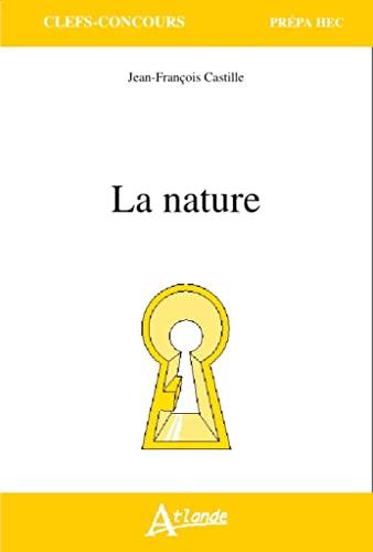 9782350303185: Prépa HEC 2016 : la nature