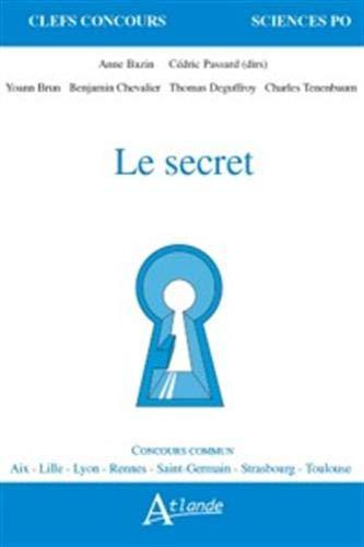 9782350306469: Le secret