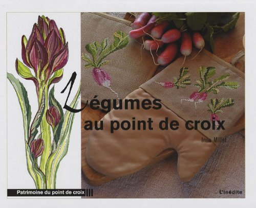 9782350320502: L�gumes au point de croix