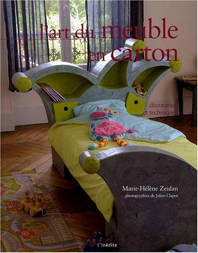 9782350321011: L'art du meuble en carton (French Edition)