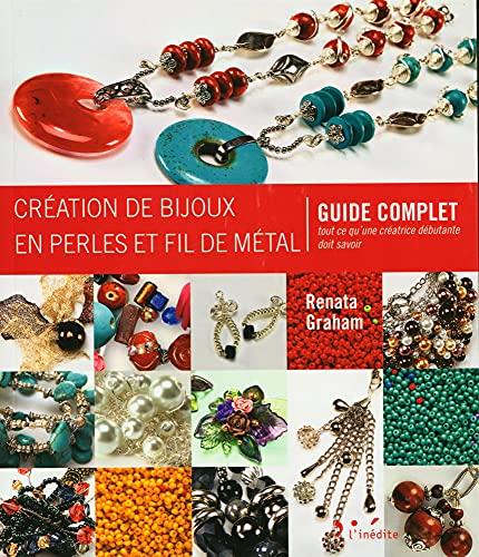 9782350322483: Création de bijoux en perles et fil de métal