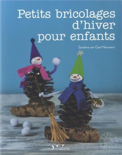 9782350322711: Petits bricolages d'hiver pour enfants