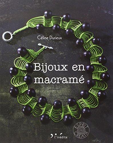 9782350322797: Bijoux en macrame