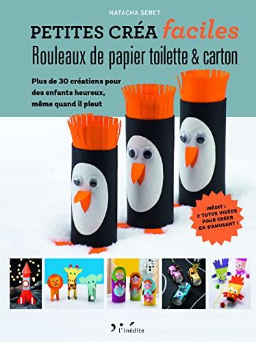 Rouleaux papier toilette & carton : Plus: Natacha Seret