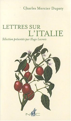 9782350390864: Lettres sur l'Italie