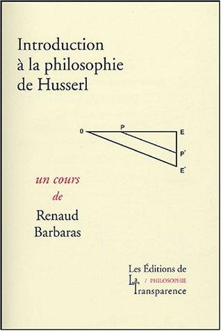 9782350510026: Introduction à la philosophie de Husserl