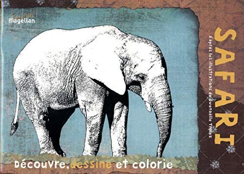 9782350741758: Safari : Cahier de coloriage