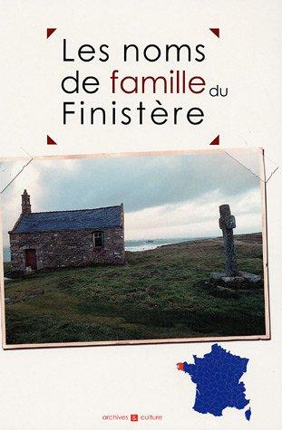 9782350770116: Les noms de famille du Finistère (French Edition)