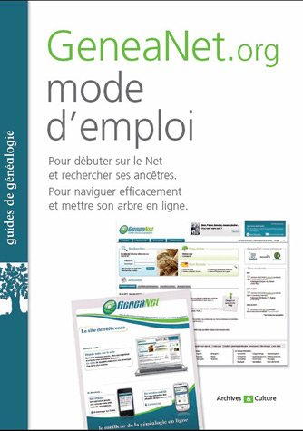 9782350772059: GeneaNet.org, mode d'emploi