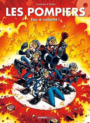 9782350787206: Les Pompiers, Tome 9 : Feu à volonté !