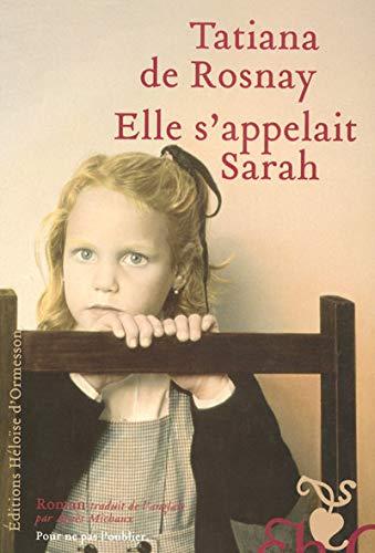 9782350870458: Elle s'appelait Sarah (French Edition)