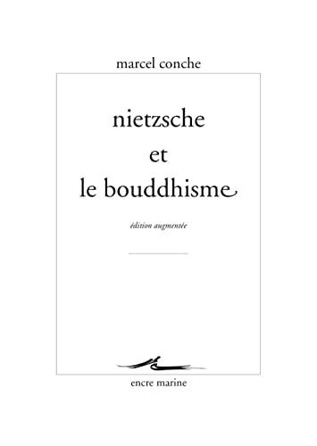 9782350880143: Nietzsche et le bouddhisme (Encre Marine) (French Edition)