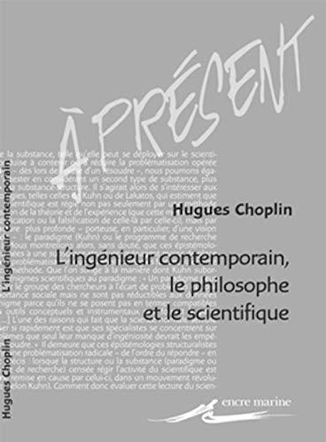 INGENIEUR CONTEMPORAIN LE PHILOSOPHE ET: CHOPLIN HUGUES