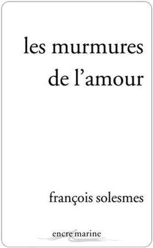 9782350880679: Les murmures de l'amour