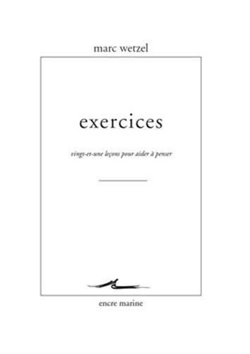 Exercices: Wetzel, Marc